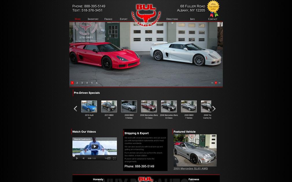 Bul auto sales auto dealer websites auto dealer for Best websites for sales