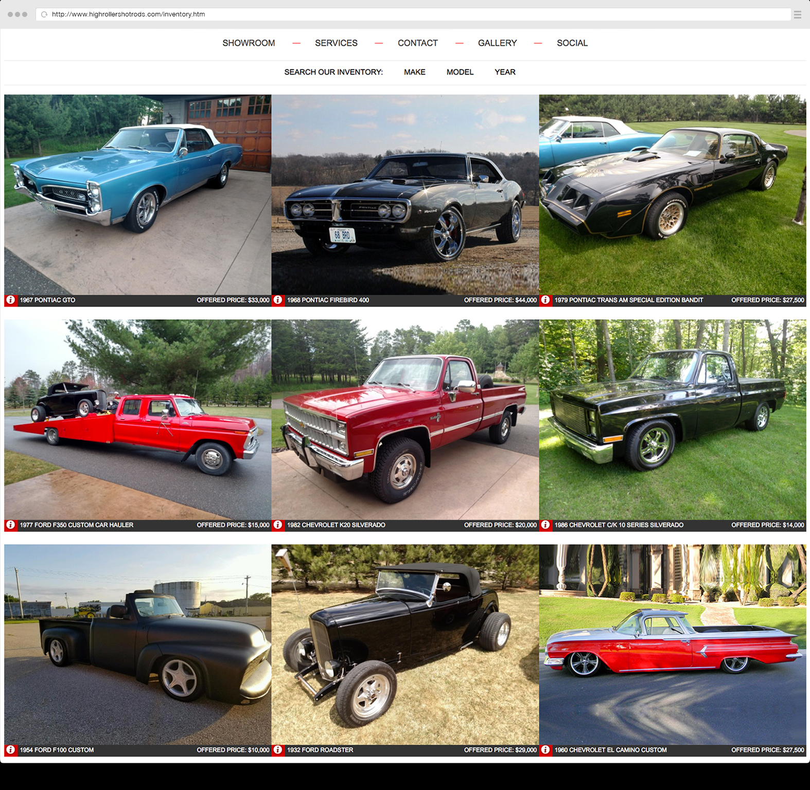 Search resulst